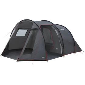 High Peak Ancona 4 Tente, dark grey/red